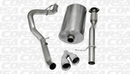 """Corsa 14914 Sport Polished Twin 4.0"""" Single Side Cat-Back for 2009-2013 Chevy Avalanche   5.3L V8"""