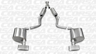 Corsa 14529 Xtreme Polished GTX2 Dual Rear Cat-Back for 2011-2014 Dodge Challenger RT  5.7L V8