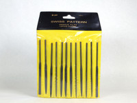 Set of 12 Swiss Pattern Needle Files