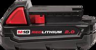 M18ª REDLITHIUMª 2.0 Compact Battery Pack