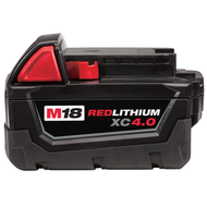 M18ª REDLITHIUMª XC 4.0 Extended Capacity Battery Pack