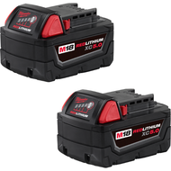 M18ª REDLITHIUMª XC5.0 Battery Two Pack