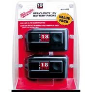 18 Volt Battery Value Pack
