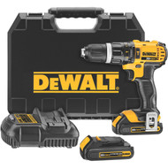 "20V MAX Li-Ion Compact 1/2"" Hammerdrill/Driver w/ 2 Batteries"
