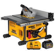 "60V MAX FLEXVOLT 8-1/2"" Table Saw Kit w/ 1 Battery (6Ah) and Charger"