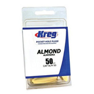 Almond Plastic Plugs 50Ct