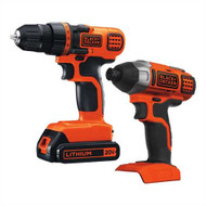20V MAX* Lithium Ion Drill/Driver + Impact Combo Kit