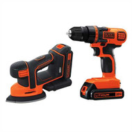 20V MAX* Lithium Ion Drill/Driver and MOUSE® Detail Sander Combo Kit