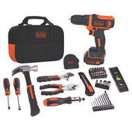 12V MAX* Lithium Ion Drill/Driver + 59 Piece Project Kit