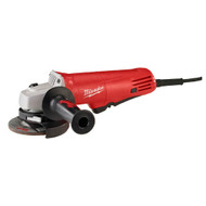 "4-1/2"" 7.5Amp Angle Grinder - Paddle Switch, Lock-On"