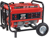Generator, Gasoline, 4200W, w/wheel kit