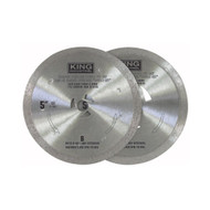 "Diamond Blade Set, 5"", fits KC-9125"