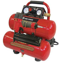 "Air Compressor, Oil-Free, 18 ga. x 2""Brad Nailer Kit"