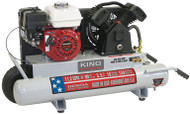 Air Compressor, Gasoline,150 PSI, 5.5 HP (Honda engine)