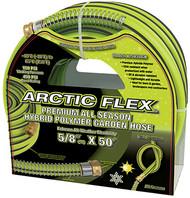 "Arctic FlexTM Garden Hose, 50'x5/8"", Hybride Polymer"