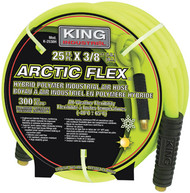 "Arctic FlexTM Industrial Air Hose, 25'x3/8"", Hybride Polymer"