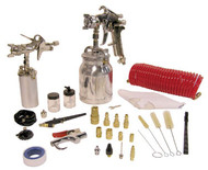 Spray Gun Kit, 43 pc