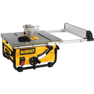 "10"" Job Site Table Saw (24-1/2"" Rip Capacity)"