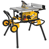 "10"" Table Saw (32-1/2"" Rip Capacity) with Rolling Stand w/ Guard Detect"