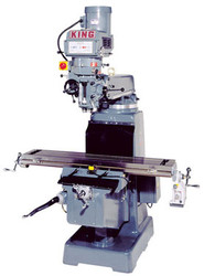 Milling/Drilling, Vertical Turret, 5hp, 600V ISO 40 Taper