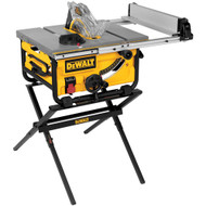 "10"" Compact Job Site Table Saw with Site-Pro Modular Guarding System w/ Stand"