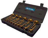 16 Mcx. Titanium Coated Forstner Drill Bit Set