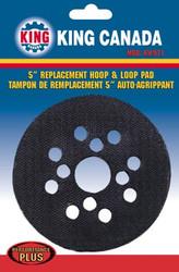 Hoop & Loop Pad, Replacement, 8305