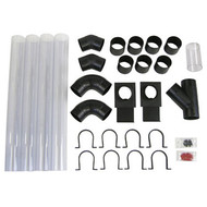 "Dust Collection Hook-up System, 4"", 27 pc"