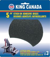 "Disc, Abrasive, 5"" x 100 Grit Pkg 3"
