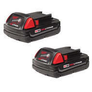 M18 Redlithiumª Compact Battery Two Pack