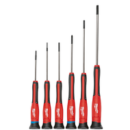 6 Pc Precision Screwdriver Set W/ Case