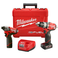 M12 Fuel 2pc Combo Drill Kit