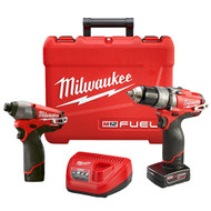 M12 FUELª 2-Tool Hammer Drill Combo Kit