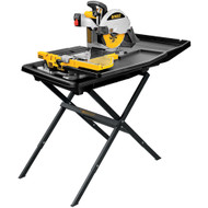 "10"" Portable Tile Saw w. Stand"