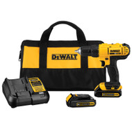 20-Volt MAX* Lithium-Ion 1/2-in Cordless Compact Drill/Driver Kit