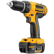 18V Compact Lithium Ion Drill/Driver w/ 2 Batteries and Kit Box