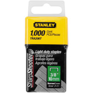 "3/8"" Light Duty Staples 1,000 Units"