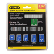 Assortment of Heavy Duty Staples 2500 Units