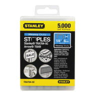 "1/4"" Heavy Duty Staples 5,000 Units"