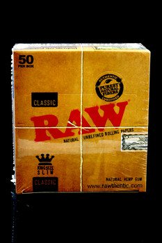 Raw King Size Slim Rolling Papers - RP129