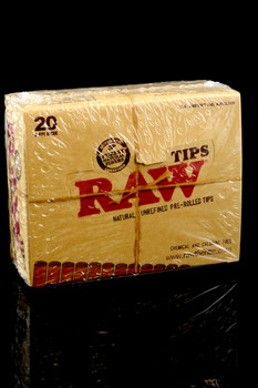 Raw Organic Pre-Rolled Tips - RP161