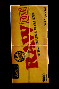 1000ct Bulk Raw 98 Special Pre-Rolled Cones - RP193
