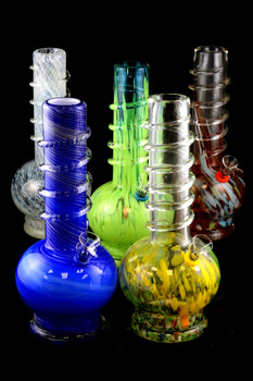 (Mix) Medium Soft Glass Water Pipe - WP791