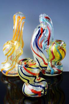 Mini Color Changing Sherlock Bubbler - B662