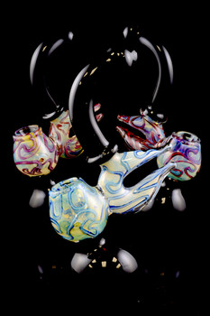 Large Color Changing Sherlock Bubbler - B817