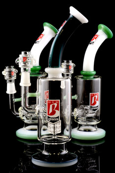 Medium Stemless GoG Wax Water Pipe with Perc - WP1059