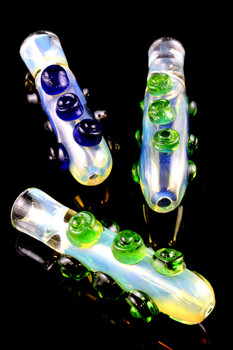 Color Changing Glass Chillum - C197