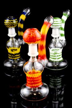 Medium Sherlock Reverse Wax Bubbler - B922