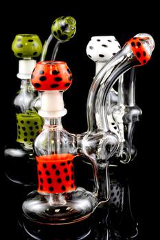 Large Wax Sherlock Glass Bubbler - B932