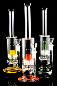 Medium Stemless GoG Water Pipe with Showerhead Perc - WP1288